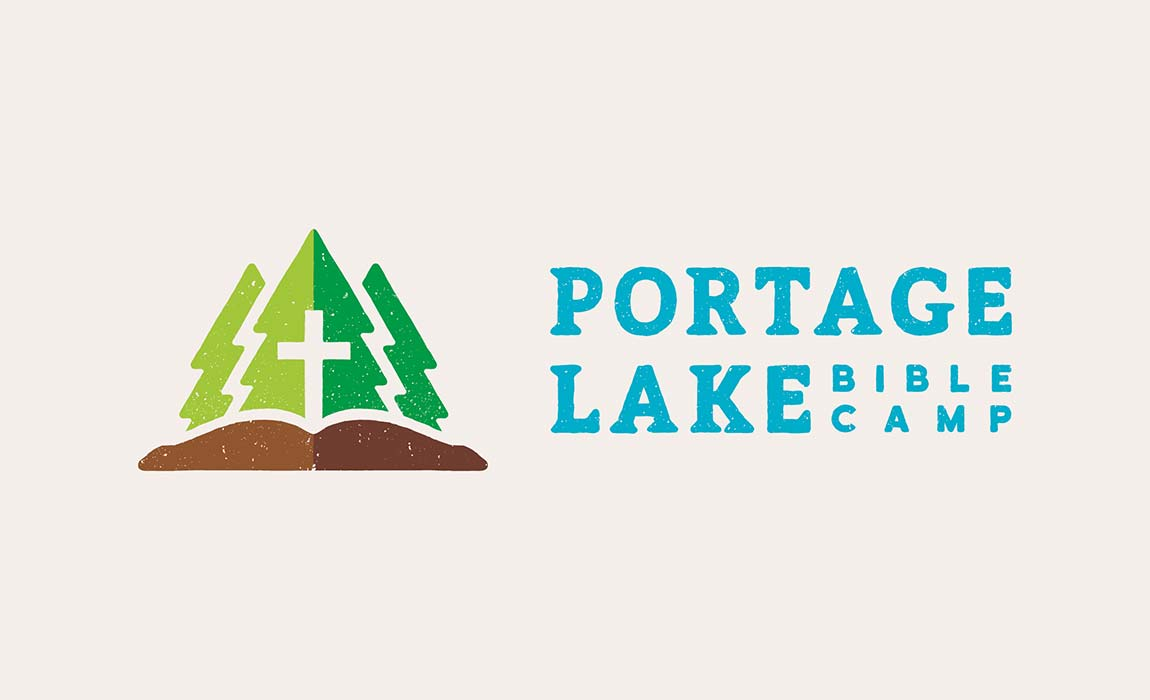 Portage lake bible camp malley design Design a new logo